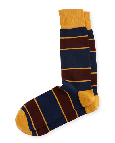 Collegiate-Stripe Socks