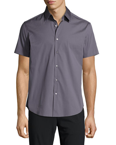Sylvain S Wealth Short-Sleeve Shirt