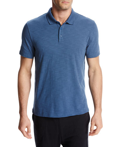 Classic Cotton Slub Polo Shirt