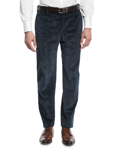 Donegal Plaid Corduroy Pants