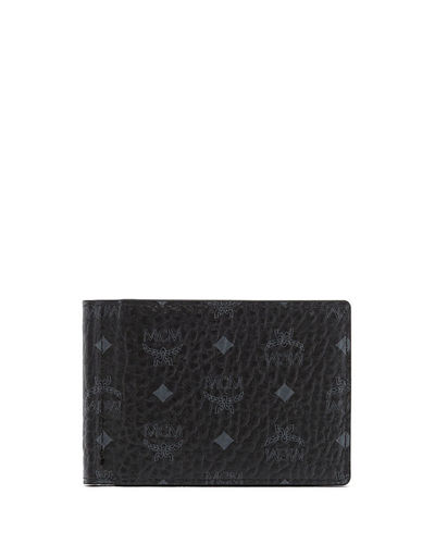 MCM Claus Visetos Wallet with Money Clip
