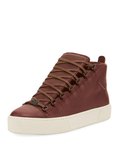 Men's Arena R17 Leather High-Top Sneaker