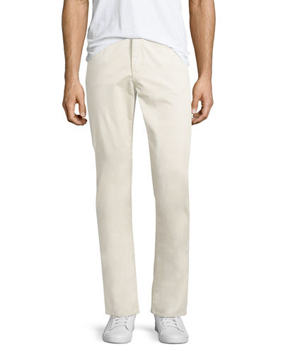 Slim Sueded 5-Pocket Pants