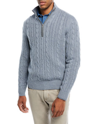 Loro Piana Cashmere Cable-Knit Sweater