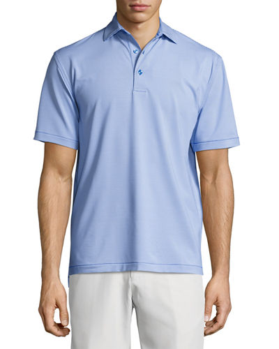 Peter Millar Crown Sport Jubilee Striped Performance Polo