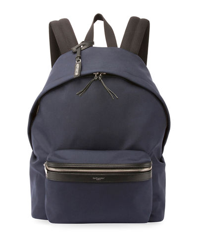 City Nylon Canvas Backpack