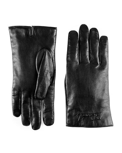 Blind for Love Embossed Nappa Lambskin Gloves