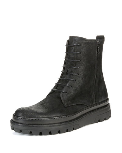 Edgar Waxed Calf Ankle Boot