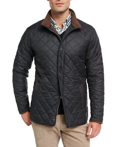 Suffolk Quilted Car Coat