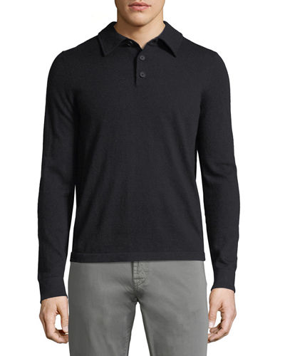 Men's Cashmere Sweaters: Crew & V-Neck at Neiman Marcus