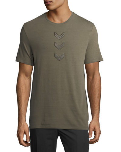 Military Arrow Cotton T-Shirt