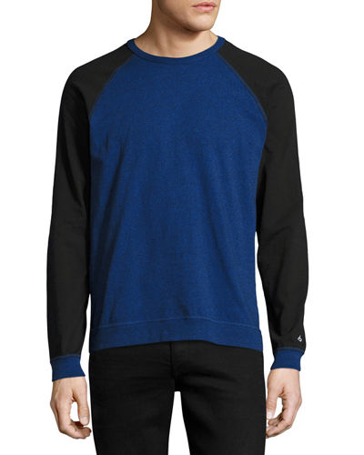 Standard Issue Colorblock Raglan-Sleeve Baseball Shirt