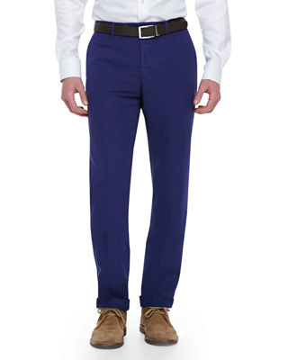 Benn Standard Fit Chinolino Pants by Incotex