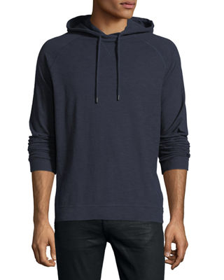The Good Man Brand Lightweight Slub Cotton Pullover Hoodie