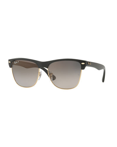 Clubmaster Oversized Polarized Sunglasses