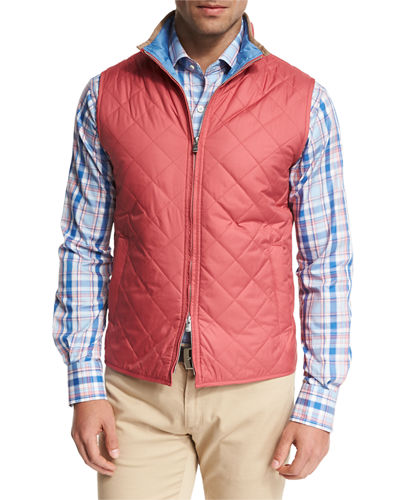 Rutherford Lightweight Quilted Vest