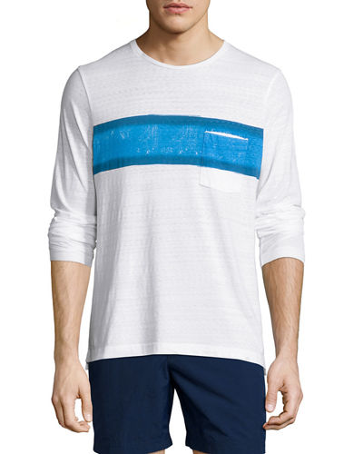 Robby Waterton Striped Long-Sleeve T-Shirt