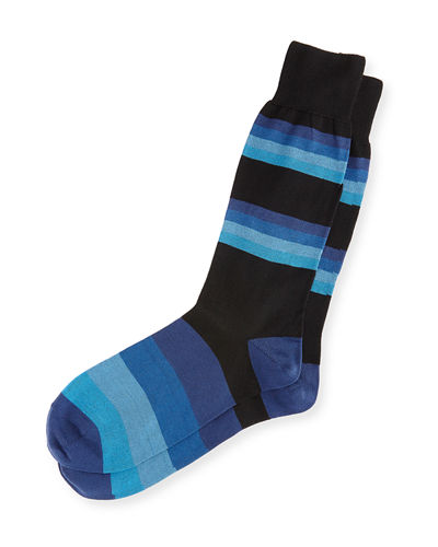 Boston Striped Socks