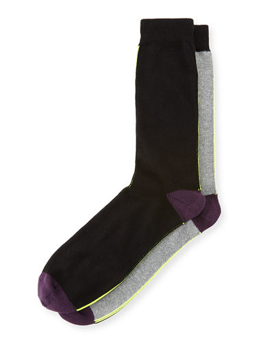 Striped Colorblock Socks