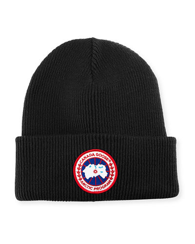 Arctic Disc Toque Knit Beanie Hat