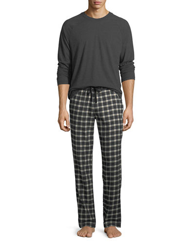 Steiner Plaid Two-Piece Pajama Gift Set