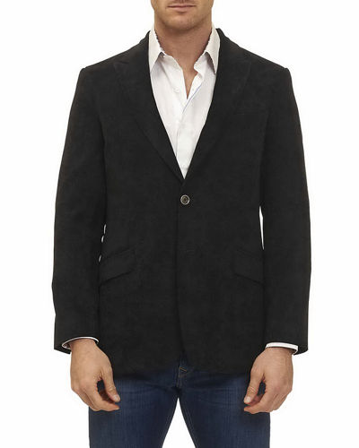 Spruce Sport Coat with Tonal Pattern