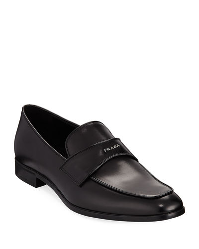 Vitello Leather Dress Loafer