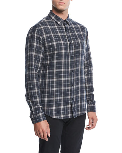 Double-Face Plaid Shirt