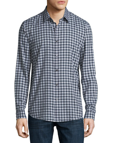 Clean Flannel Sport Shirt