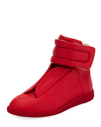 Future Basic Leather High-Top Sneaker