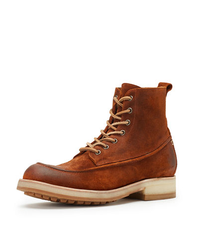 Rainer Waxed Suede Work Boot