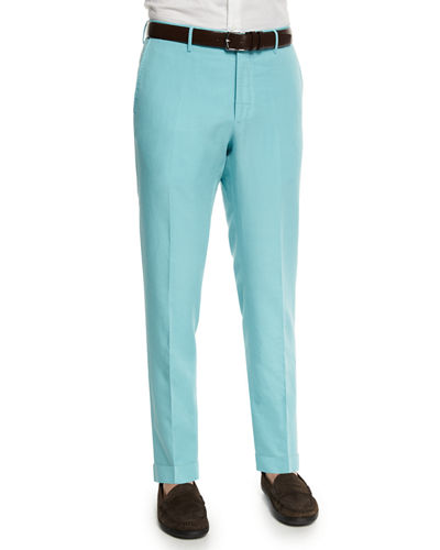 Chinolino Linen-Blend Trousers