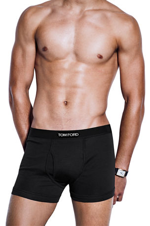TOM FORD Logo-Trim Boxer Briefs