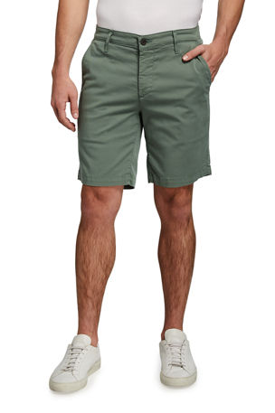 AG Adriano Goldschmied Men's Wanderer Solid Knee-Length Shorts