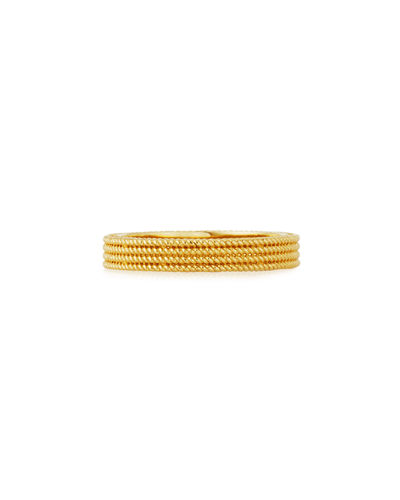 Symphony Collection 18K Gold Stacked Barocco Ring