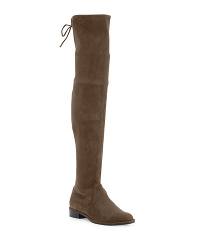 Lowland Suede Over-The-Knee Boot