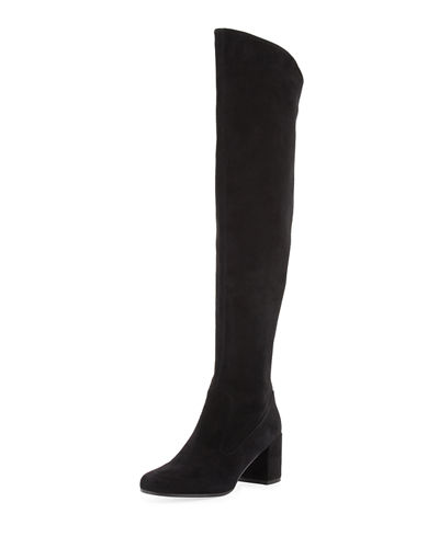 Vince Blythe Suede 75mm Over-the-Knee Boot