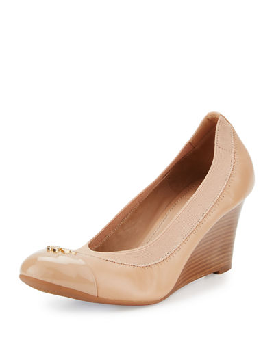 Jolie Logo 65mm Wedge Pump