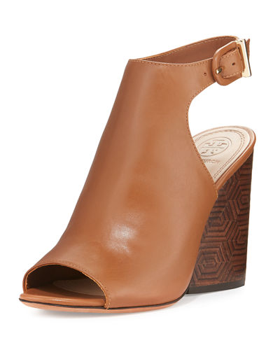 Grove Leather 100mm Block-Heel Bootie