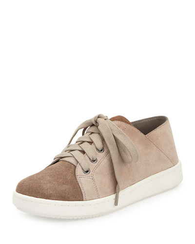 Clifton Suede Low-Top Sneaker