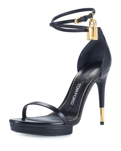 Platform Ankle-Lock 105mm Sandal