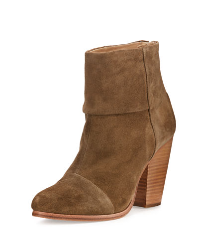 Classic Newbury Suede Ankle Boot