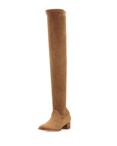 Manolo Blahnik Pascalare 30mm Over-The-Knee Boot