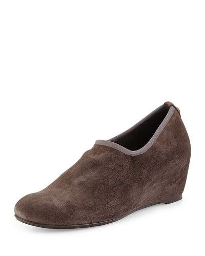 Stuart Weitzman Covering Slip-On Shoe-Bootie