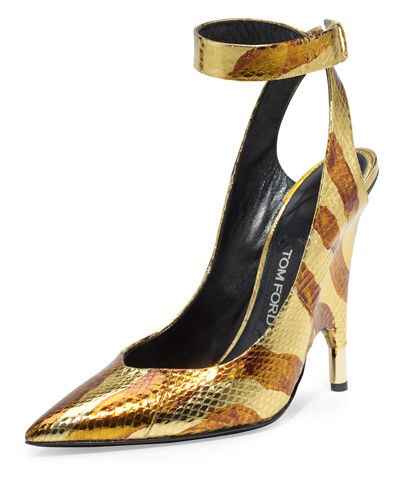 Watersnake Ankle-Wrap Pump
