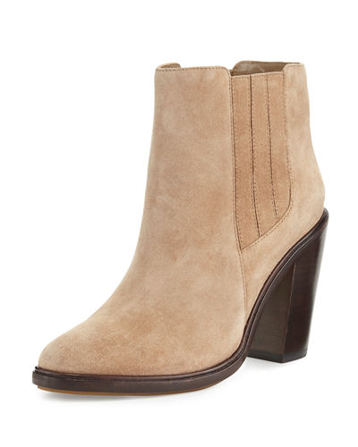 Cloee Suede Ankle Boot
