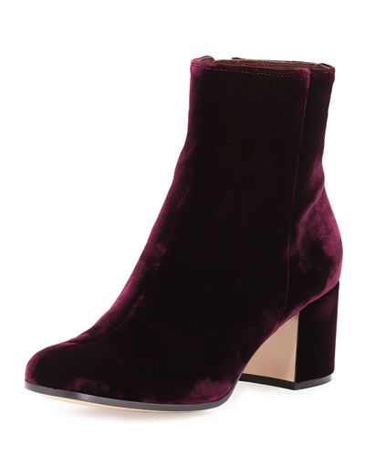 60MM VELVET ANKLE BOOT
