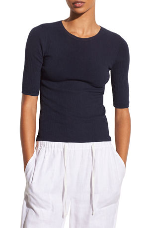 Vince Broomstick Pleated Sweater