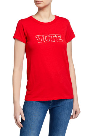 Rag & Bone Vote Graphic Tee