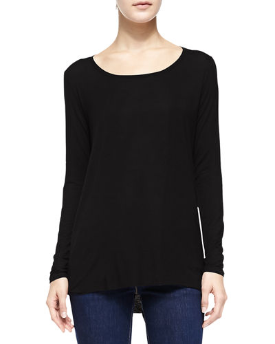 Majestic Paris for Neiman Marcus Soft Touch Marrow High-Low Top